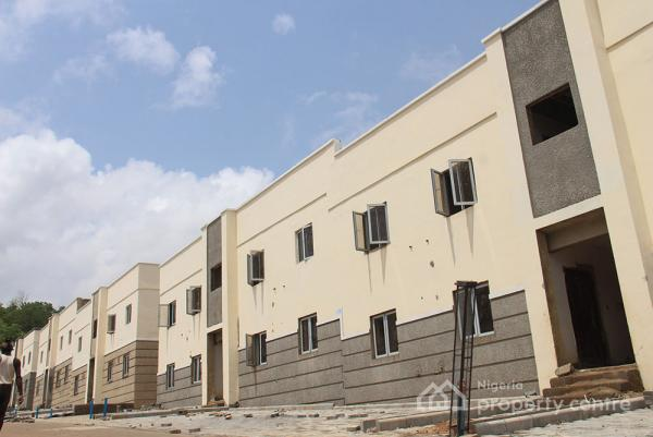 Beautiful Four Bedroom Terrace Duplex , Life Camp, Not Far From Stella Maris, Dape, Abuja, Terraced Duplex for Sale