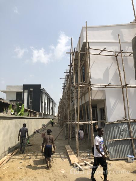 Newly Built 3 Bedroom Terrace with a Bq (work in Progress 70% Ready)  !!!, Chevron, Off Orchid Hotel Road, Lekki Phase 1, Lekki, Lagos, Terraced Duplex for Sale