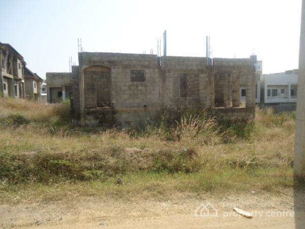 4 Bedroom Duplex Carcass with Basement, Before Turkish Hospital, Mbora, Abuja, Detached Duplex for Sale