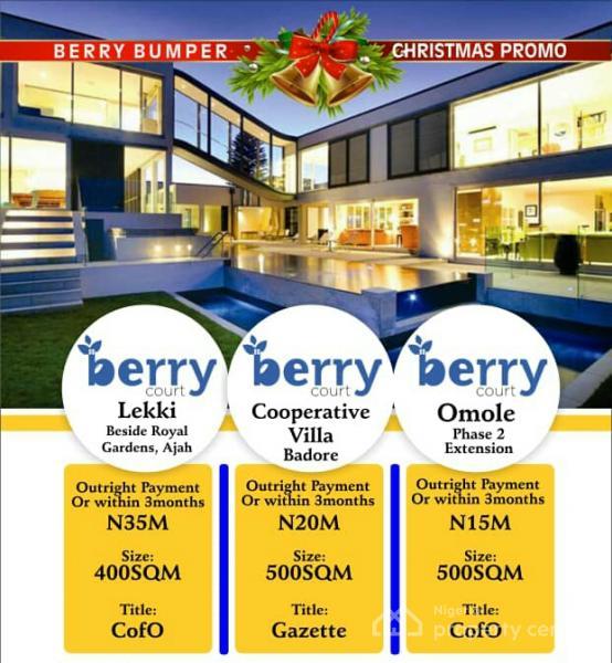 Amazing Land Plots Offer @ Lekki - Ajah ( C of O) Read to Build, Beside Royal Garden Estate, Lekki Gardens Estate, Ajah, Lagos, Residential Land for Sale