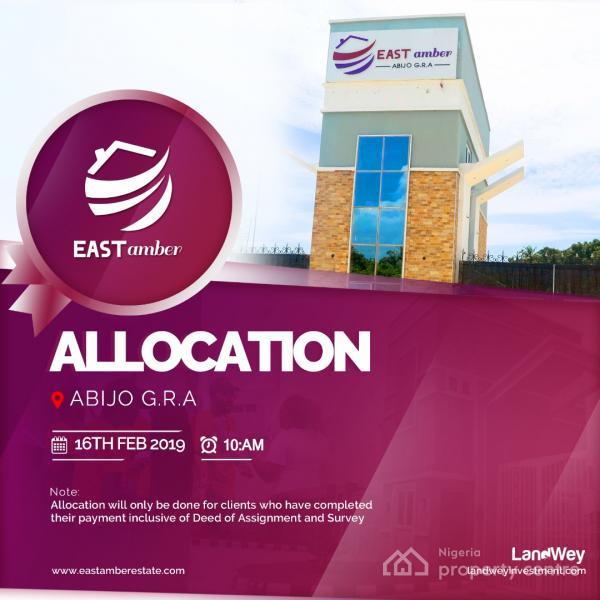 East Amber Estate, Abijo, G.r.a, Ajah, Lagos, Residential Land for Sale