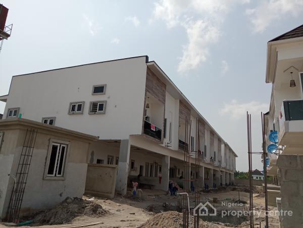 Luxury 4 Bedroom Terrace with 24hours Power, Lafiaji, Lekki, Lagos, Terraced Bungalow for Sale