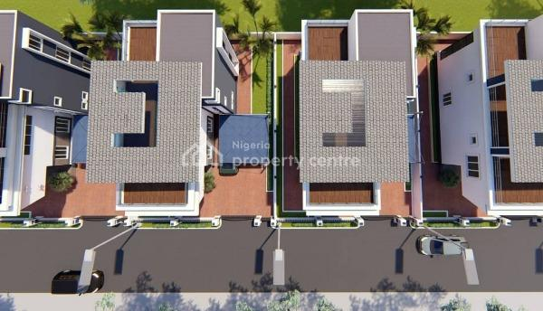 Off-plan: Smart 5 Bed Ensuite Triplex Mansion: 1-10years Payment Plan Available, Berger, Arepo, Ogun, Terraced Duplex for Sale