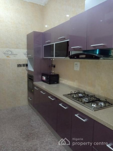 a Serviced Three 3 Bedroom Apartment with a Room Bq 24hrs Light, Off Ajayi Bembe, Parkview, Ikoyi, Lagos, Flat for Rent