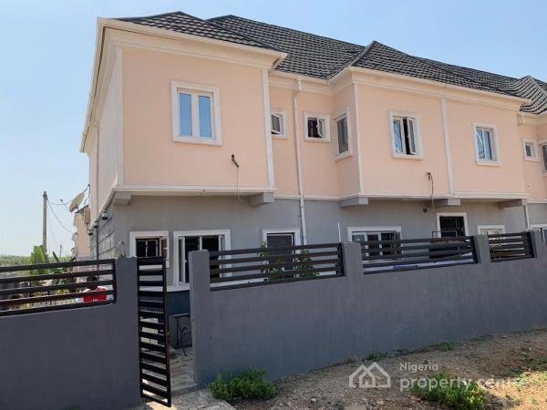4 Bedroom Terraced Duplex in a Mini Estate. Has Its Own Compound, Back of Citec, By Turkish Hospital, Mbora, Abuja, Terraced Duplex for Sale