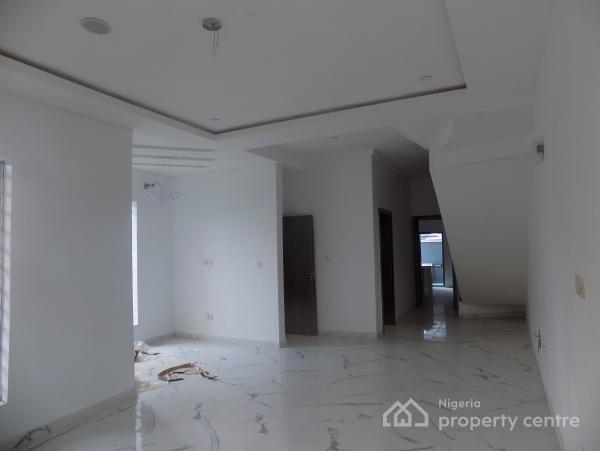 Magnificent 4 Bedroom Luxury Fully Semi Detached Duplex with a Domestic Room, Idado, Lekki, Lagos, Semi-detached Duplex for Sale
