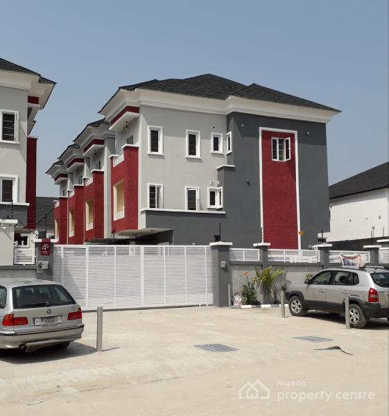 4 Bedroom House For Rent: For Rent: 4 Bedroom Townhouse, Osapa, Lekki, Lagos