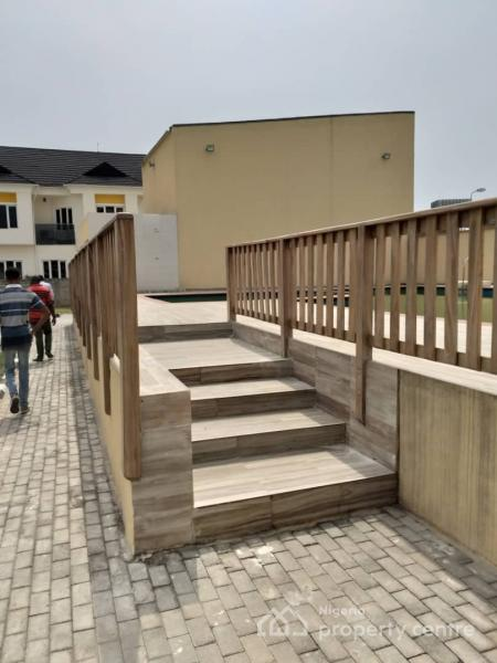 Serviced Luxury 4 Bedroom Duplex with Excellent Finishing Plus 24hrs Light, Pinnock Beach Estate, Behind Circle Mall, Osapa, Lekki, Lagos, Semi-detached Duplex for Rent