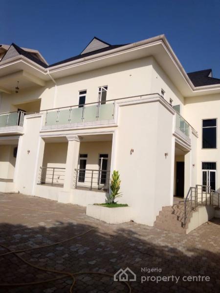 Nicely Built 5 Bedroom + 2 Rooms Bq, Maitama District, Abuja, Detached Duplex for Sale