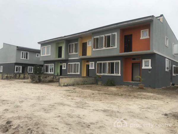 Wealthland Green Estate, 7 Minutes Drive From The Novare Mall(shoprite) and 1 Minute Drive to Lakowe Golf Course, Oribanwa,lekki-ajah, Lekki, Lagos, Terraced Duplex for Sale