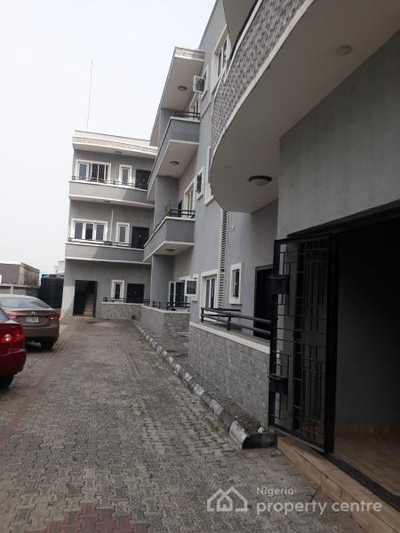 3 Bedroom Flat, Brown Stone, Ikate Elegushi, Lekki, Lagos, House for Rent