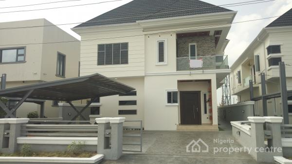 New and Uniquely Finished 5 Bedroom Fully Detached Duplex with Swimming Pool, Ikota Villa Estate, Lekki, Lagos, Detached Duplex for Sale
