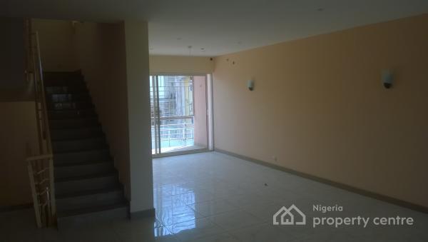 4 Bedroom Terrace Duplex with 2 Rooms Bq, Jabi, Abuja, Terraced Duplex for Rent