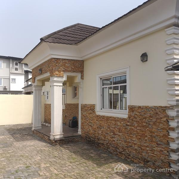 Superbly Finished Four (4) Bedroom Detached Bungalow with Two (2) Sitting Room and a Gate House, Ogunfayo Estate, Beside Mayfair Gardens, Ibeju Lekki, Lagos, Detached Bungalow for Sale