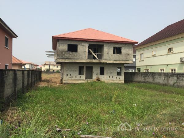 300 Sqm of Land, Zebra Lane, Crown Estate, Ajah, Lagos, Detached Duplex for Sale