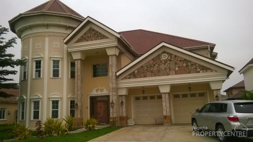 For sale 5 bedroom mansion with boys quarters nicon for Mansions in nigeria for sale