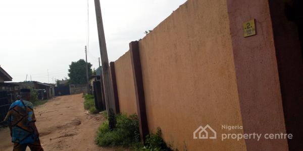 2 Bedroom Bungalow with Borehole Fence and Gate, Around Rainbow Bus Stop, By Iyana-iyesi, Walkable From The Express, Sango Ota, Ogun, Detached Bungalow for Sale