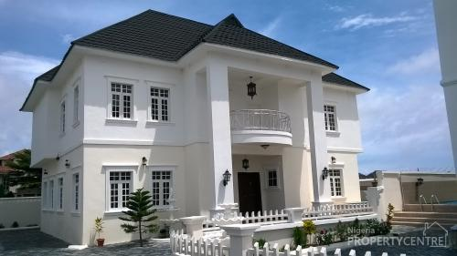 5 Bedroom Detached House With Swimming Pool Lekki Lagos