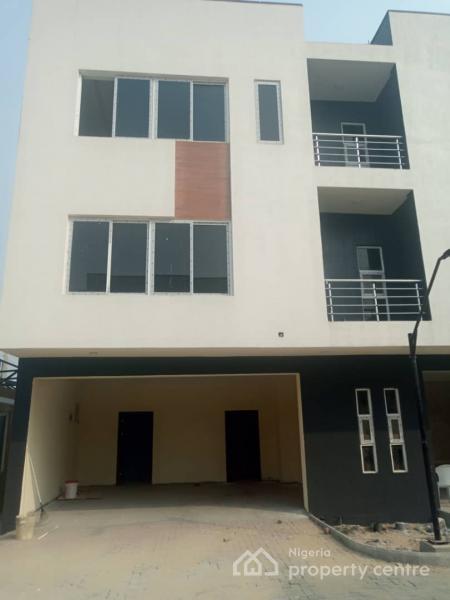 Luxury Brand New 4 Bedroom Terrace Duplex with Bq + Pool, Osapa, Lekki, Lagos, Terraced Duplex for Sale