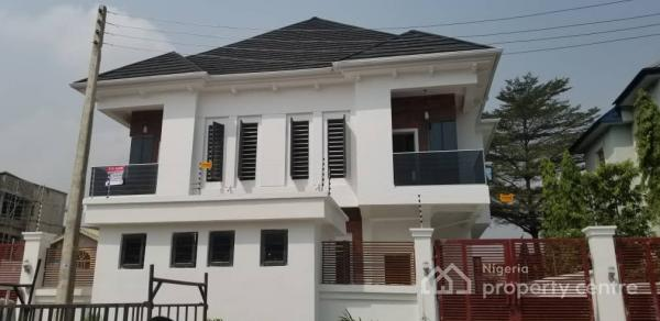 Luxury 4 Bedroom Semi Detached Duplex with Bq, Osapa, Lekki, Lagos, Semi-detached Duplex for Sale