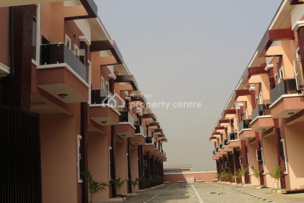 Fully Serviced Four Bedroom Terrace Duplex, Off Chevron Alternative Route, Lekki, Lagos, Terraced Duplex for Sale