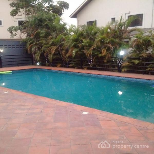 4 Bedroom Semi Detached House in a Mini Estate, 2nd Street, Phase 1, Osborne, Ikoyi, Lagos, Semi-detached Duplex for Sale