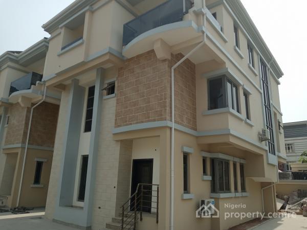 Luxury Newly Built Service 4 Units of 5 Bedroom Fully Detached Duplex with Bq, Oniru, Victoria Island (vi), Lagos, Detached Duplex for Rent