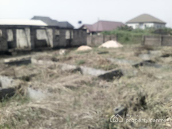 100x100 with Uncompleted 4 Flats Bungalow, Miller Road, Off Ugbor Village Road, Gra, Benin, Oredo, Edo, Residential Land for Sale