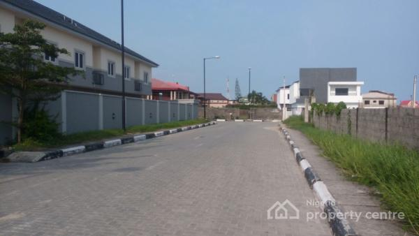 Newly Built Very Well Finished 4 Bedroom Terrace Duplex, Atlantic View Estate, Close to Chevy View, Lekki, Lagos, Terraced Duplex for Sale
