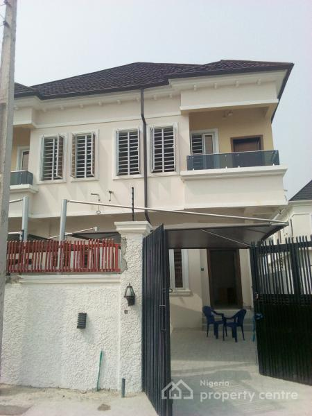 Newly Built 3 Bedroom Semi Detached Duplex with Bq, Chevron, Chevy View Estate, Lekki, Lagos, Semi-detached Duplex for Sale