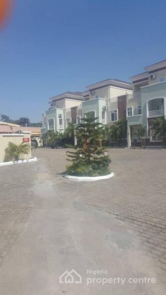 Newly Built and Excellently Finished 4 Bedroom Terraced Duplex with a Room Baby, Fitted Kitchen, Etc, Maitama District, Abuja, Terraced Duplex for Rent