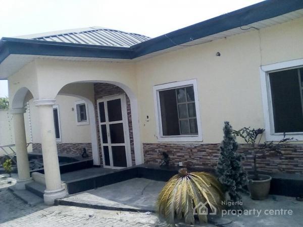 3 Bedroom Bungalow on 450sqm Land, University View Estate, Opposite Lagos Business School, Ajah, Lagos, Detached Bungalow for Sale