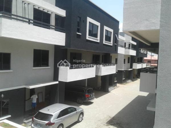 Newly Built4 Bedroom Serviced Luxurious Terrace Duplex+2 Room Bq with Swimming Pool, Club House & Gym, Oniru, Victoria Island (vi), Lagos, Terraced Duplex for Rent