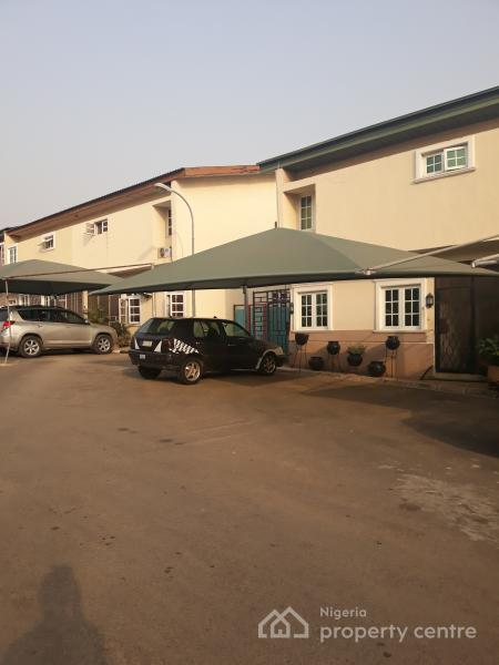 Owner Occupied Govt Prototype 3 Bedrooms Terrace Duplex with Large Bq Space, Fcda Quarters, Off Aminu Kano Crescent, Wuse 2, Abuja, Terraced Duplex for Sale