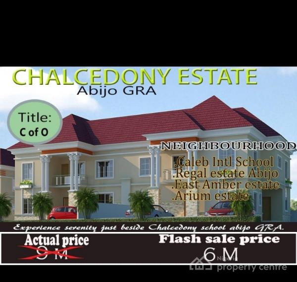 Plots of Dry Land, Chalcedony Estate, Ajah, Lagos, Residential Land for Sale