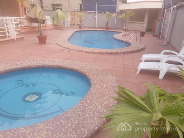 Serviced 3 Bedroom Terraced Duplex with 1 Room Servant Quarter, Off Ademola Adetukumbo Crescent, Wuse 2, Abuja, Terraced Duplex for Rent