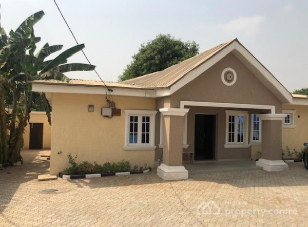 Brand New 3 Bedroom Bungalow with Green Area, Wuse, Abuja, Detached Bungalow for Rent