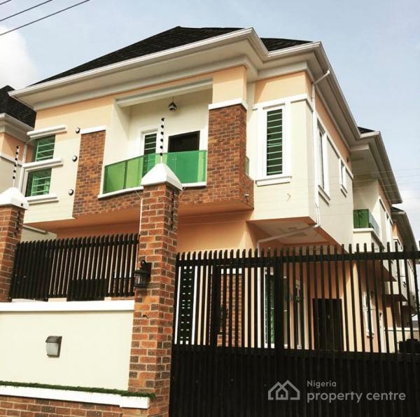 Tastefully Finished 4 Bedrooms Fully Detached with Bq, Novare Shoprite, Osapa London, Jakande, Lekki, Lagos, Detached Duplex for Rent