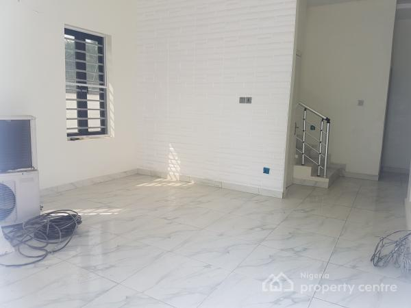 Luxury Brand New 4 Bedroom Detached Duplex with Bq in Serviced Estate, By Chevrom Toll Gate, Lekki, Lagos, Semi-detached Duplex for Sale