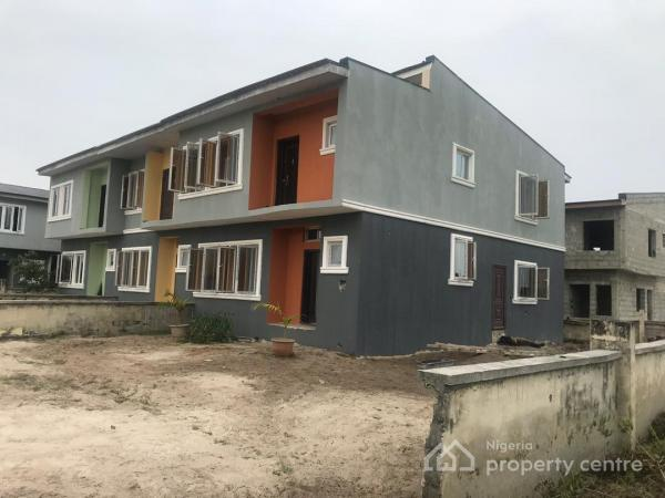 Own a Luxury 3 Bedroom Terrace Duplex + Guest Room and Pay Up in 2 Years, Few Minutes Drive From Awoyaya, Oribanwa, Ibeju Lekki, Lagos, Terraced Duplex for Sale