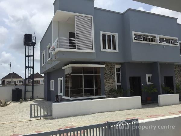 4 Bedroom Semi Detached Duplex, Idado, Lekki, Lagos, Semi-detached Duplex for Sale