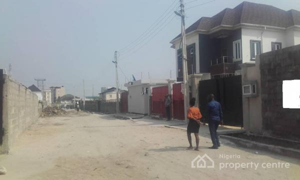 425 Sqm of Fenced Land in an Estate, Ologolo, Lekki, Lagos, Residential Land for Sale