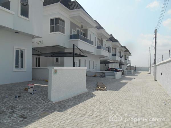 Nice 4 Bedroom Fully Detached Duplex, Chevron Area, Chevy View Estate, Lekki, Lagos, Semi-detached Duplex for Sale