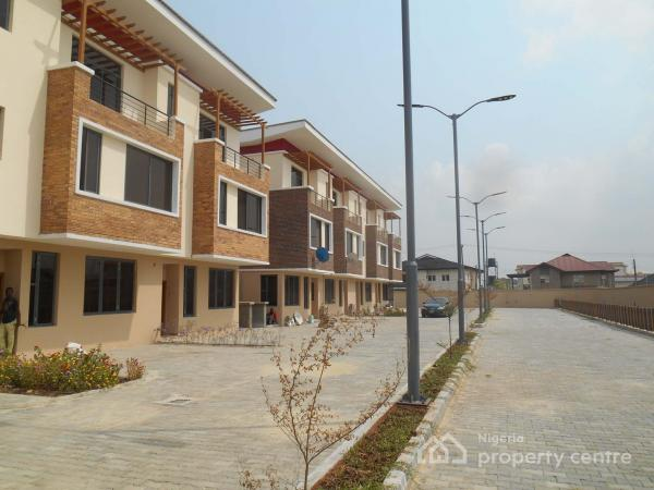 Very Well Built 4 Bedroom Terrace Duplex with Excellent Facilities, Ikate Elegushi, Lekki, Lagos, Terraced Bungalow for Sale