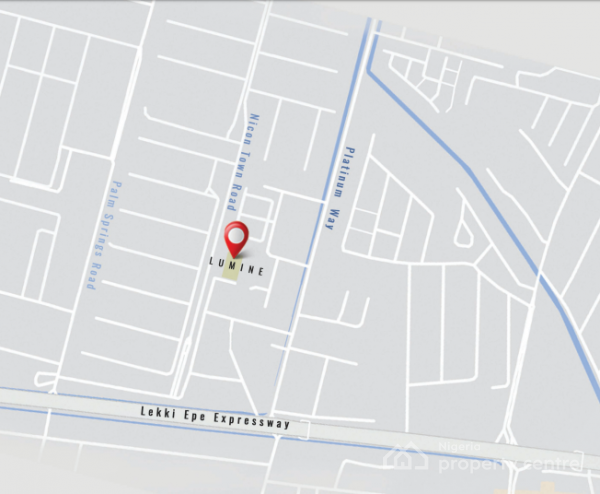 Luxury Flats - Lumine By Cadwell, Igbokusu, Nicon Town, Lekki, Lagos, Terraced Duplex for Sale