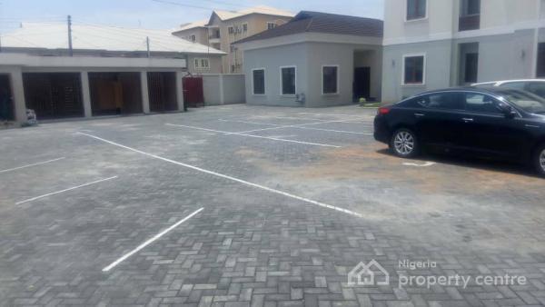 Serviced 3 Bedroom Flat with a Room Bq, Lekki County Road, Ikota Villa Estate, Lekki, Lagos, Flat for Rent