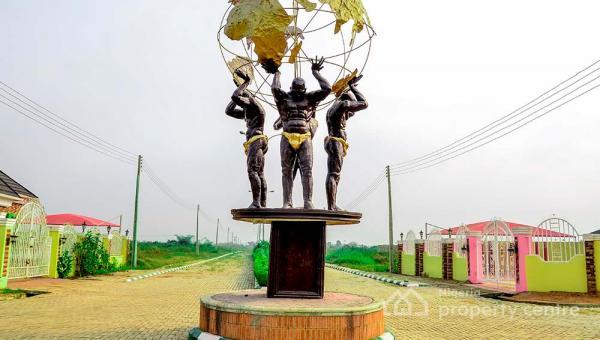 Affordable Estate Land, Sango Ota, Ogun, Mixed-use Land for Sale