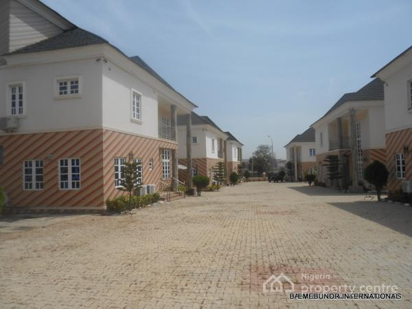 Detached Luxury and Serviced 5 Bedroom Duplex with Bq, By Mr Biggs, Jabi, Abuja, Detached Duplex for Rent