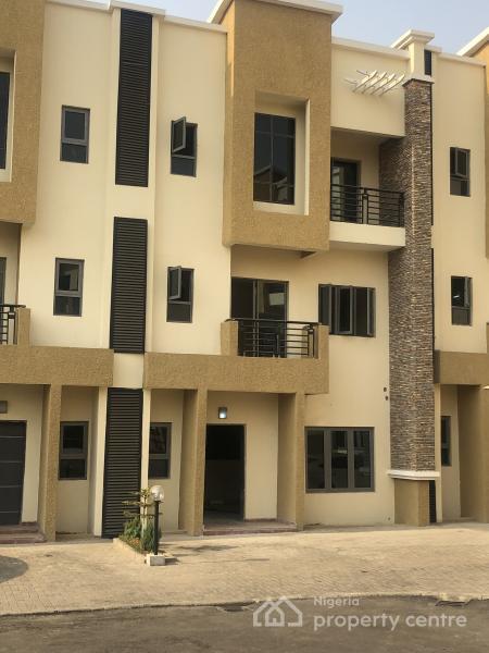 Brand New 4 Bedroom Duplex with Bq, Jabi, Abuja, Terraced Duplex for Sale