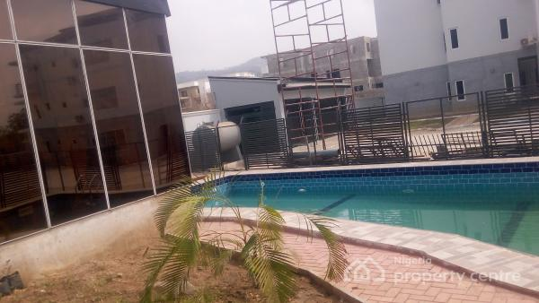 Brand New Diplomatic Fully Serviced 2 Bedroom Flat with Pool,gym House, En Suite, Serene and Well Secured Neighborhood, Katampe Extension, Katampe, Abuja, Flat for Rent